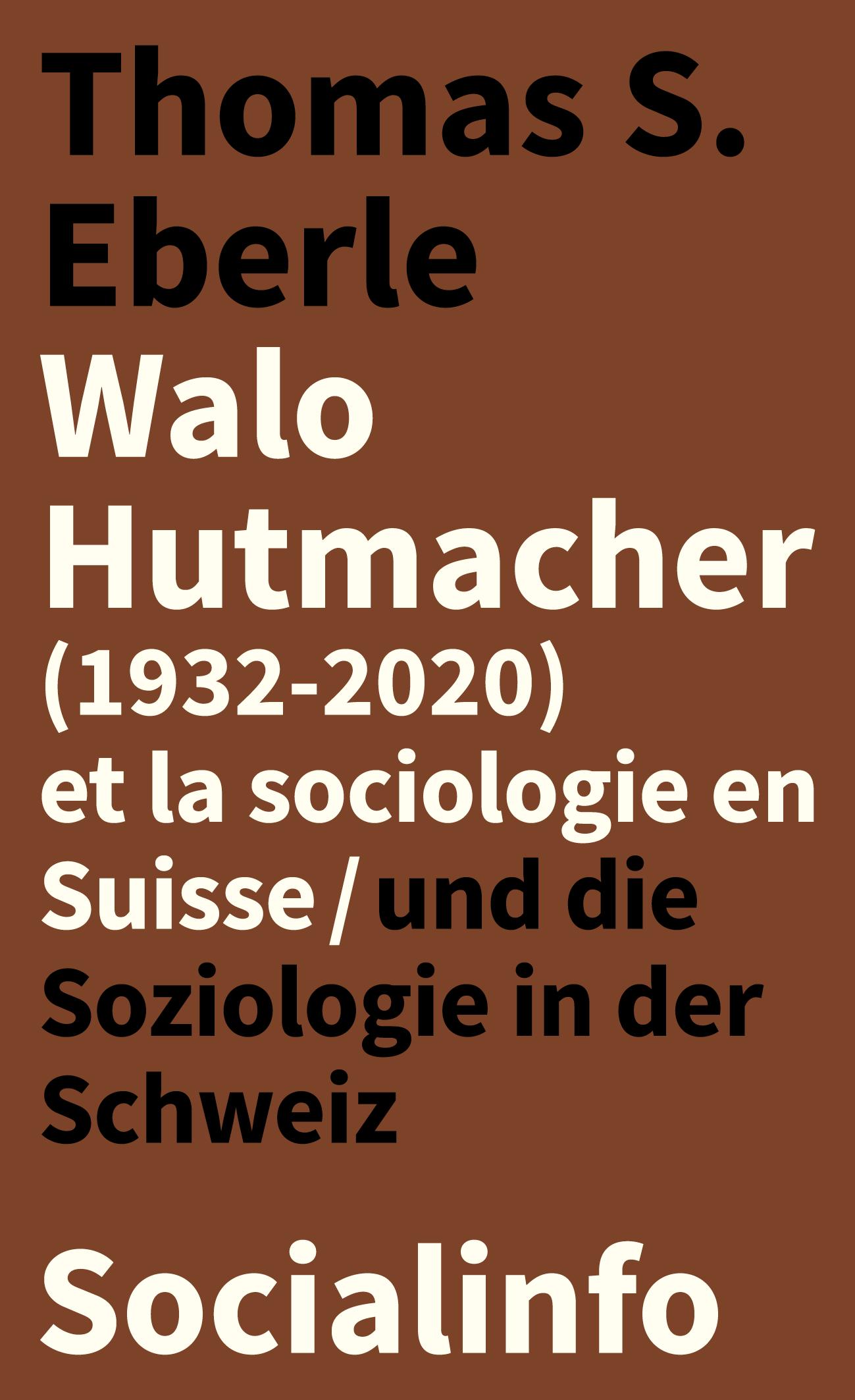 Walo Hutmacher